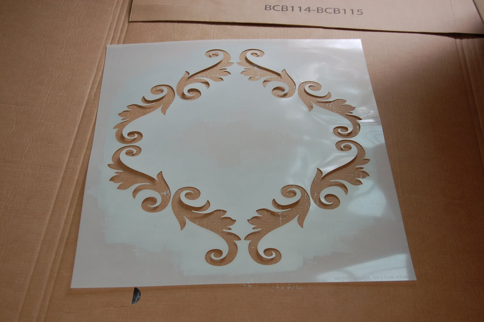 Wall stencils michaels gallery home wall decoration ideas crafty teacher lady stenciling with martha the first step is to find the center of your amipublicfo Image collections