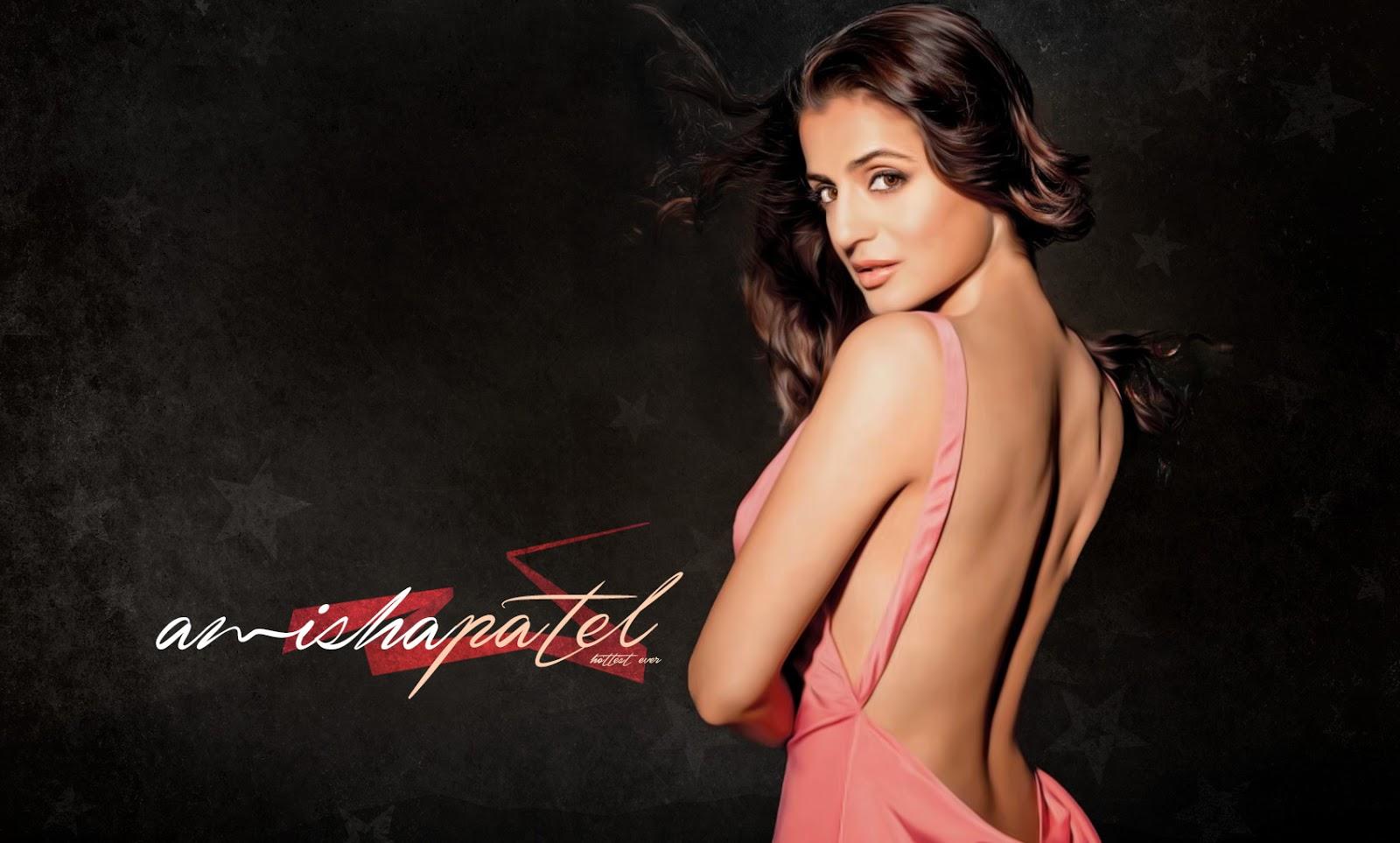 Amisha Patel Hot Wallpaper