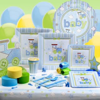 Objetos decorativos Baby Shower
