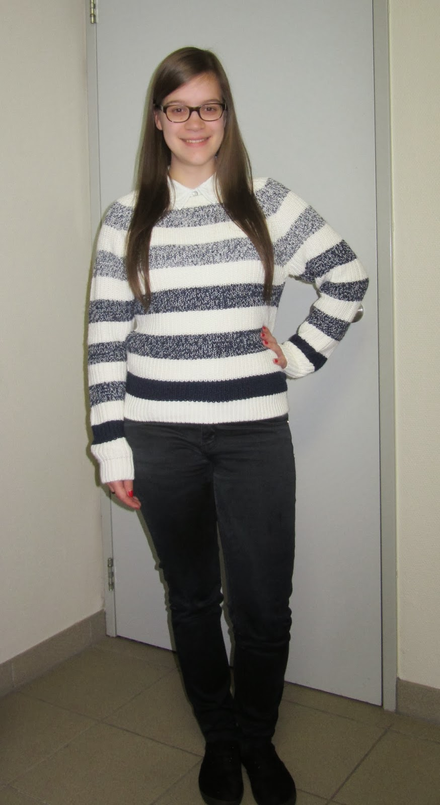 Clothes & Dreams: New in: Jumper. Striped. Ombre. LOVE: outfit