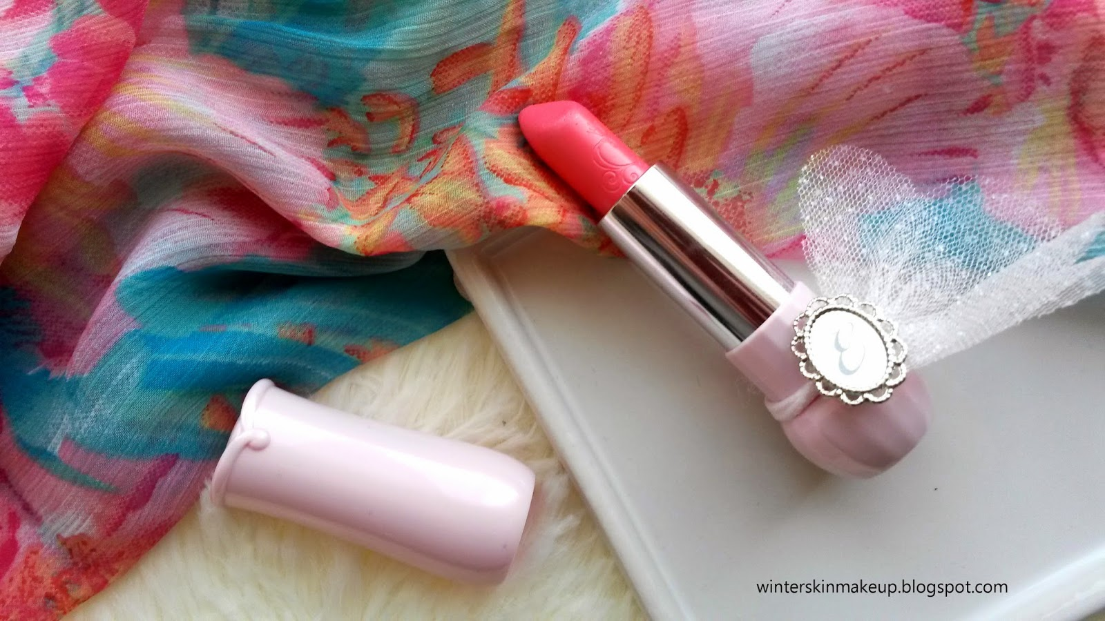 Etude House Dear My Blooming Lips Talk - Etude Pink