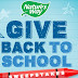 BACK TO SCHOLL NATURESWAY SWEEPS