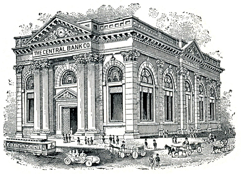 Brady's Lorain County Nostalgia: Central Bank Then & Now