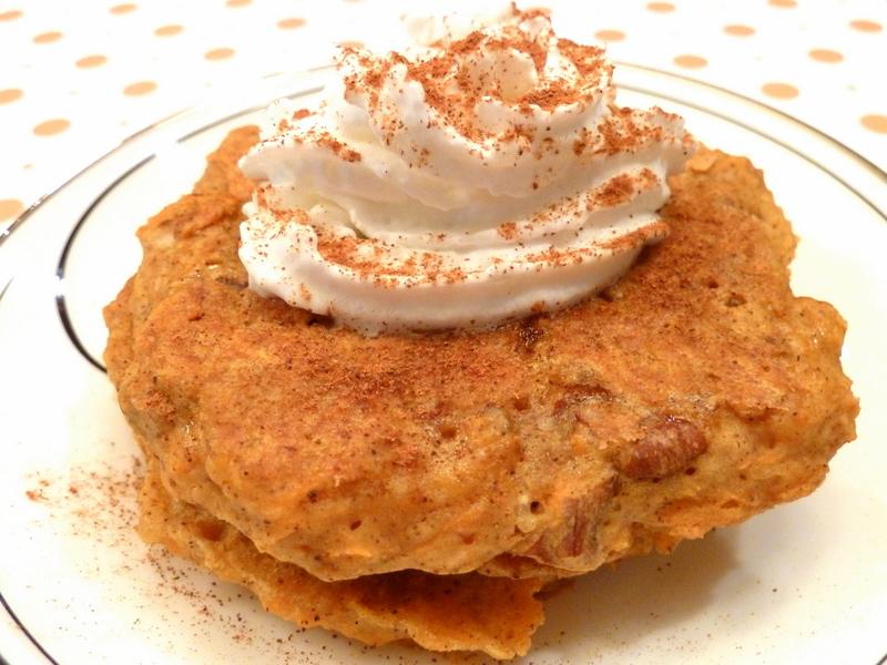 Cookin' Cowgirl: Vegan Carrot Cake Pancakes