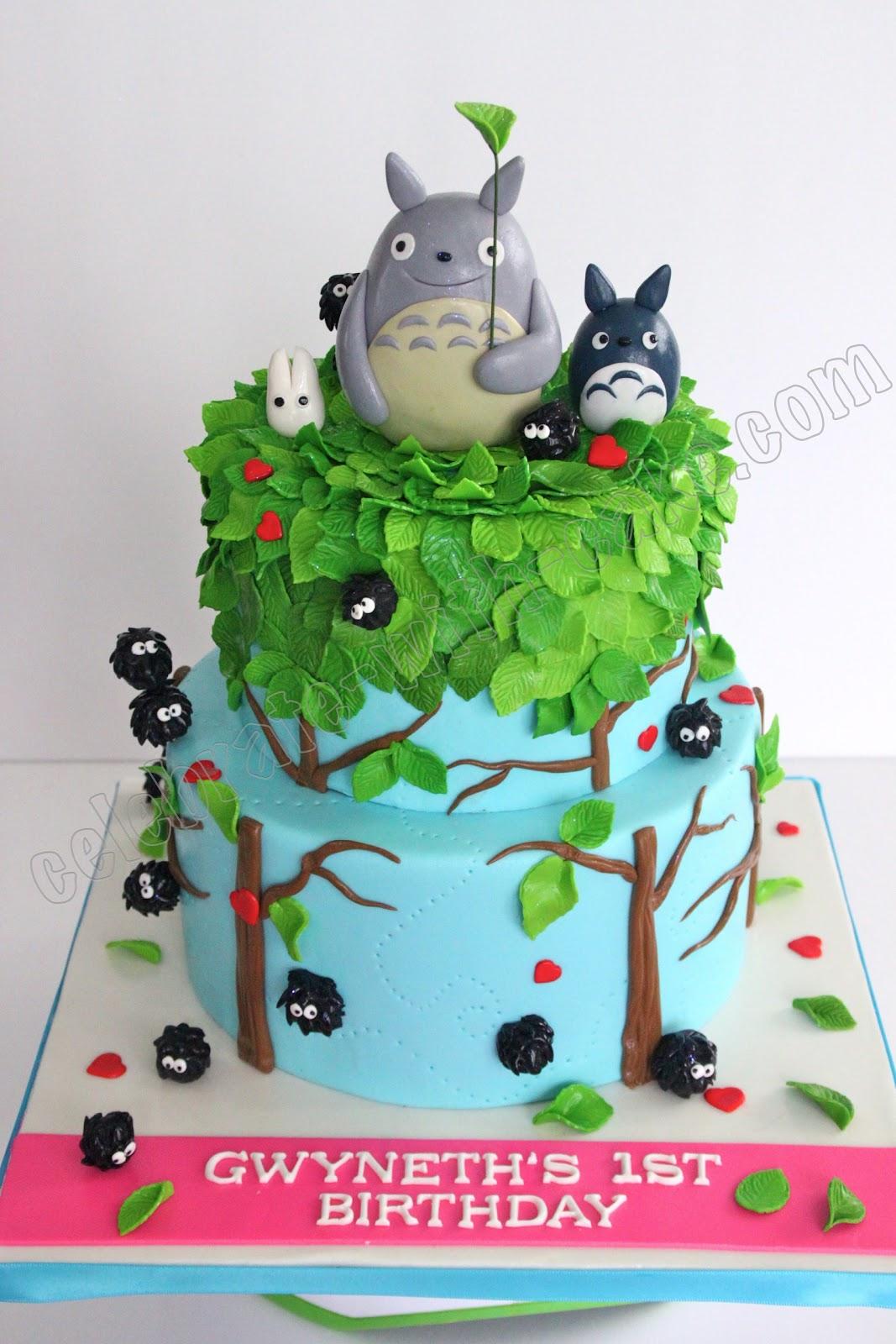 Totoro Cake Decorations