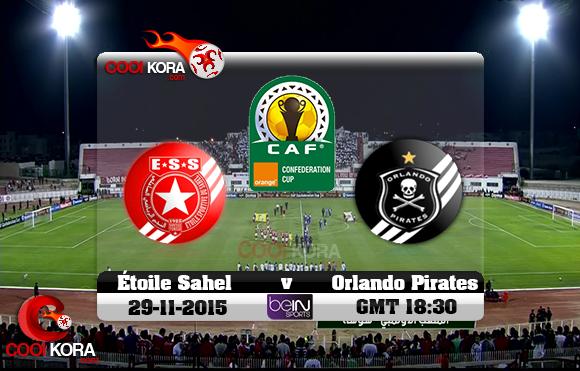 مشاهدة مباراة النجم الساحلي وأورلاندو اليوم نهائي كأس الإتحاد الأفريقي علي قناة بي أن سبورت HD1