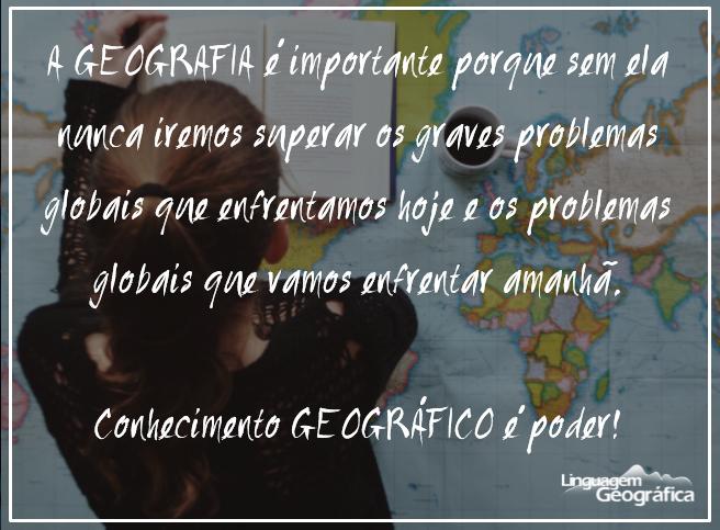 Resultado de imagem para mensagem de geografia para alunos