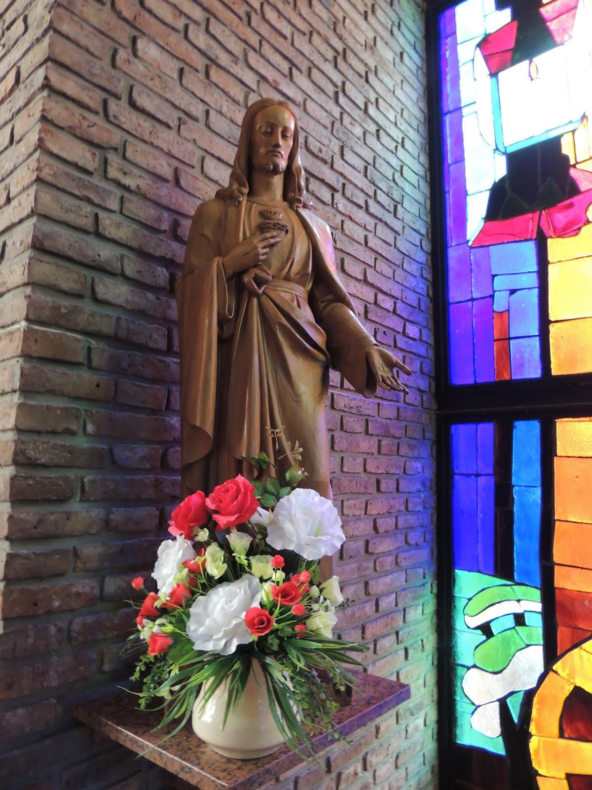 IMAGEN DEL SAGRADO CORAZON DE JESUS DE LA PARROQUIA