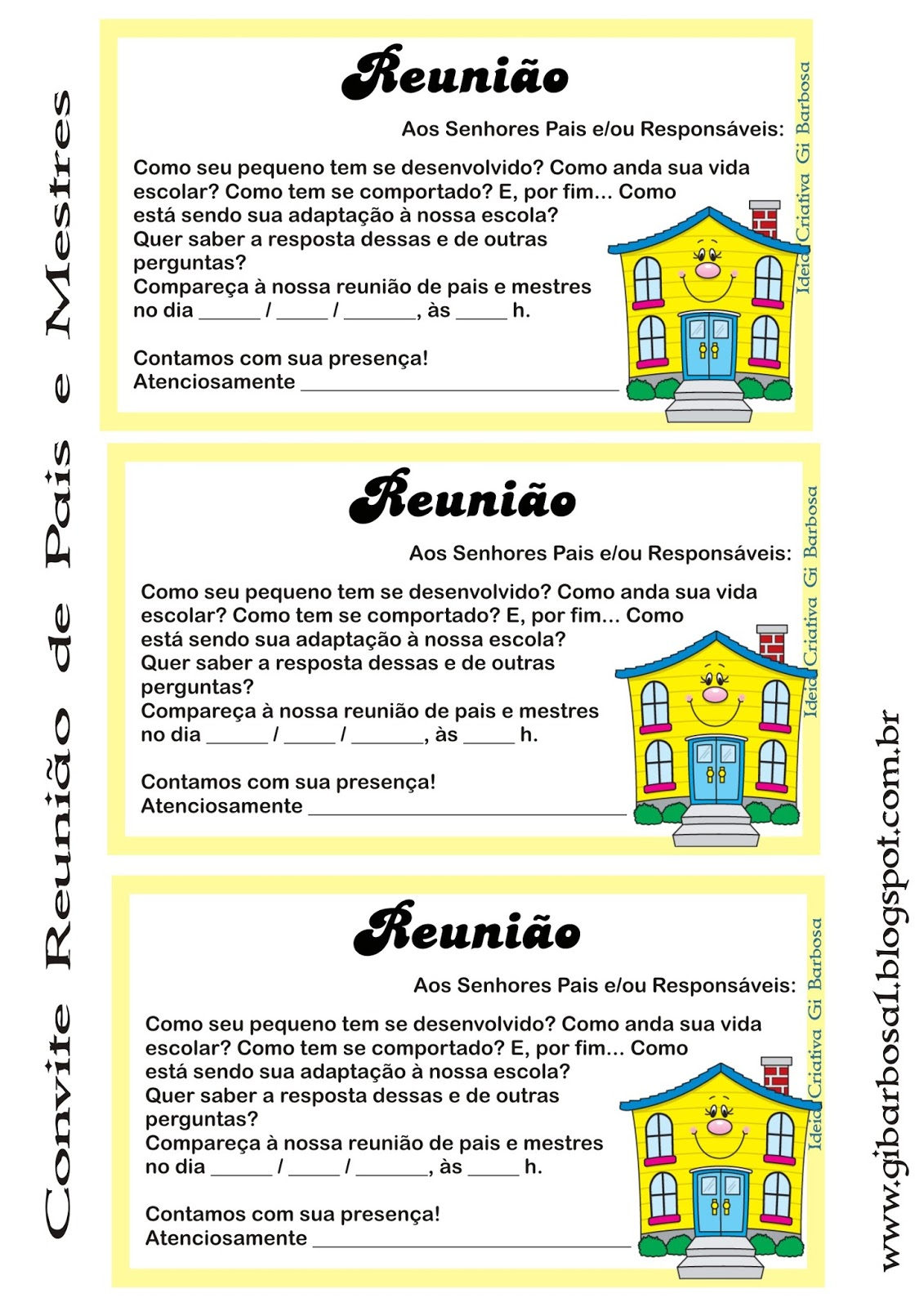 Frases Para Reunião De Pais Na Escola Hs57 Ivango