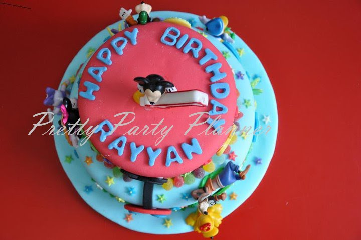 Pretty Party Planner Birthday Cake Mickey Mouse