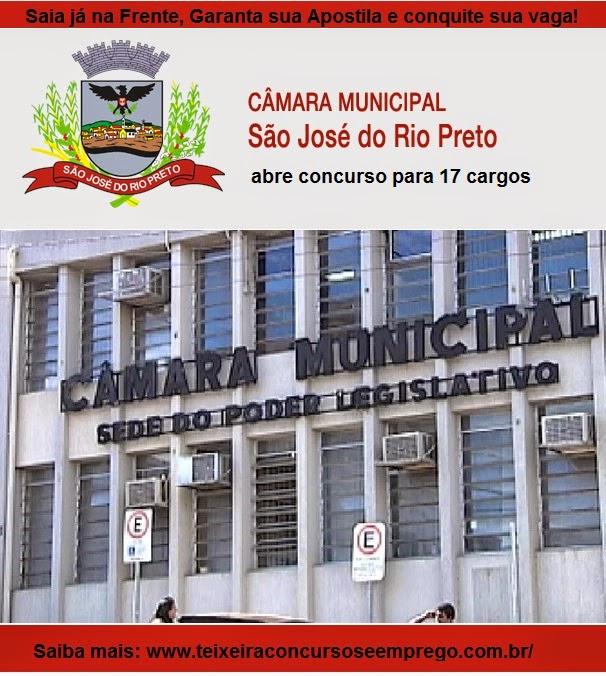 Apostila Concurso Câmara de São José do Rio Preto - Técnico Legislativo (SP)
