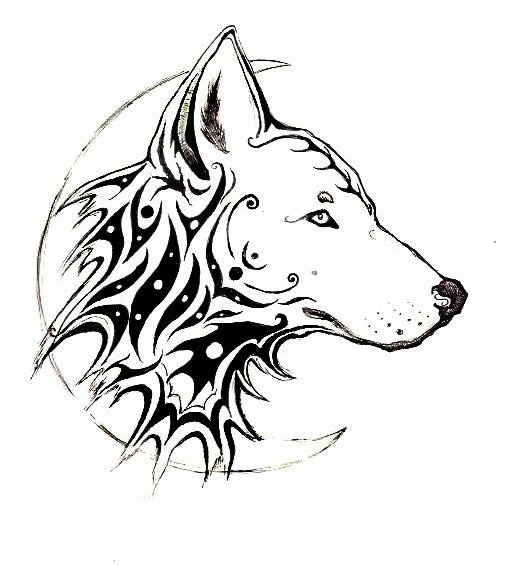 nordicknitblogs: wolf tattoos - animal tattoos gallery