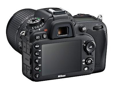 Fotografia del dorso della Nikon D7100