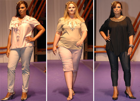 roupa para gordinhas moda plus size 8 Moda Feminina   Roupas Tamanho Grande