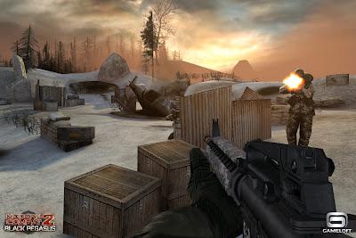 Modern Combat 2: Black Pegasus - atualização com novos mapas e XP