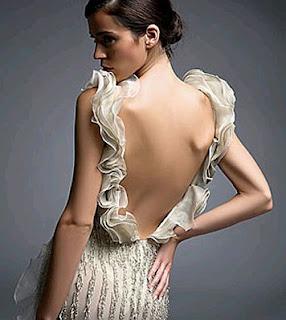 Vestidos de Novia con Escote en la Espalda, parte 5
