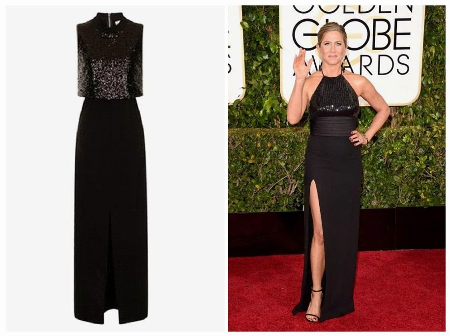 The Vintage style of Jennifer Aniston rarely gets it right on the red carpet of 72nd Annual Golden Globe  Awards , and seeing her in this design dress by Lavish Alice just proves once again about how amazing she is. Here the gown address if you wanted to boy for just £10.00: Lavishalice.com.