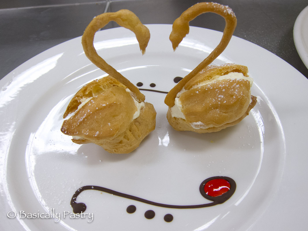 how to keep choux pastry crisp
