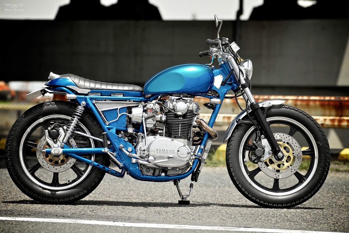 Racing Caf U00e8  Yamaha Xs 650 Special By Motor Rock