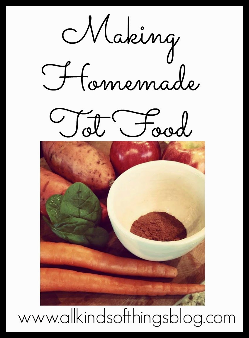 Homemade Tot Food