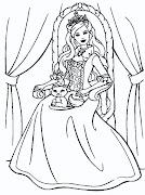 Dibujos Para Pintar pintar barbie