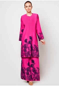 Update Model Baju Kurung Moden Terbaru 2014