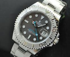 New in Box Rolex YachtMaster SlateGrey