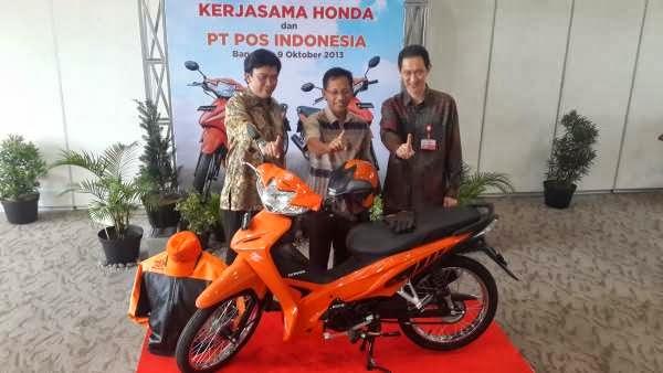 HONDA ABSOLUTE REVO PASUKAN BARU POS INDONESIA