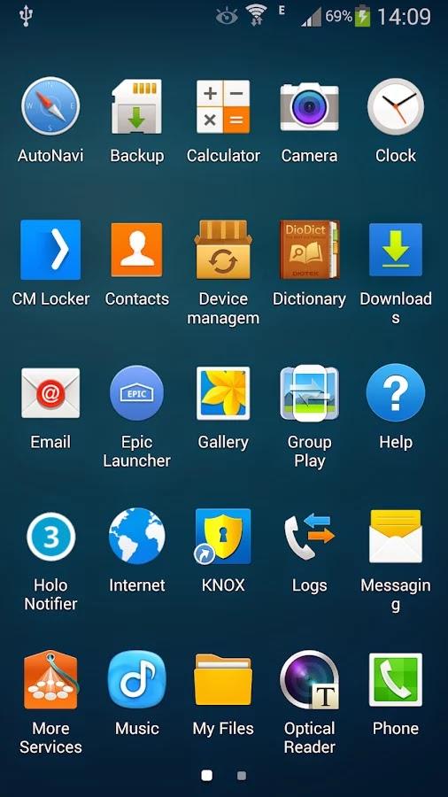 Galaxy Launcher Prime v1.1.3