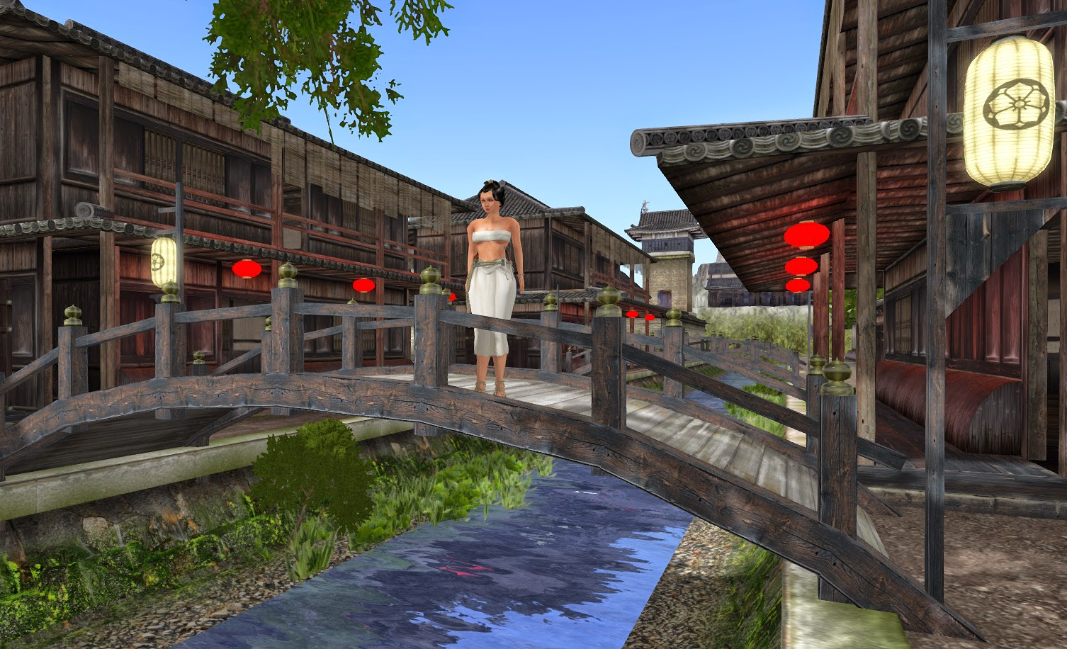 remember the works have just begun and the buildings that are placed right now are mockups and will be replaced with the original buildings later building japanese furniture
