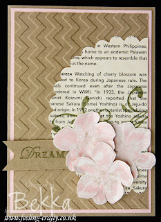 Everything Eleanor Dream Card by Stampin' Up! Demonstrator Bekka Prideaux - check out her blog for more ideas