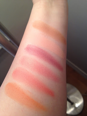 Nars Blush Swatches