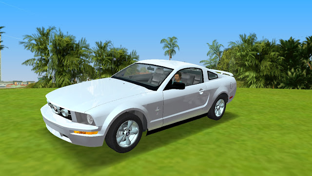Ford Mustang Pony Edition 2005 GTA Vice City