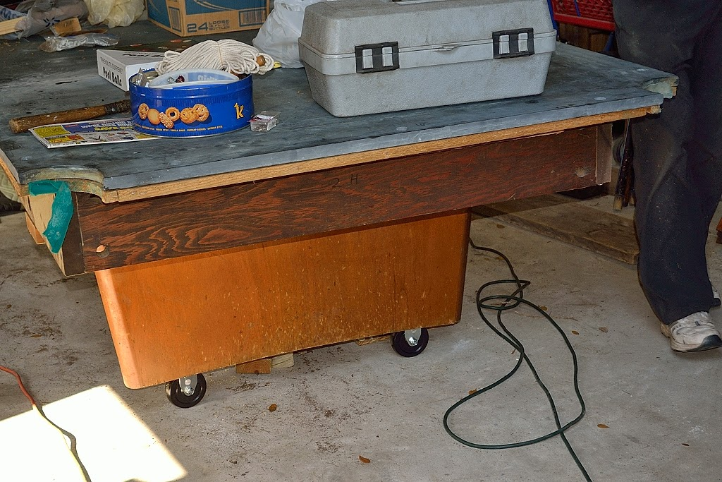 Eureka Mountain Life Putting The Pool Table On Wheels - How to put a pool table together