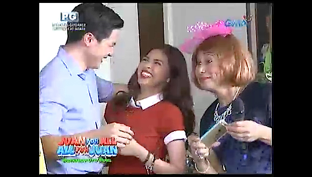 ALDUB first picture together