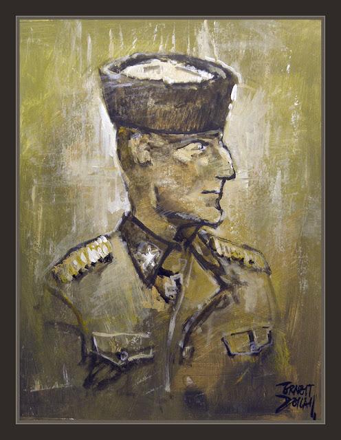 RONA-KAMINSKI-WW2-SS-RUSSIAN-SOLDIERS-SOLDADOS-ART-PINTURA-PINTOR-ERNEST DESCALS-
