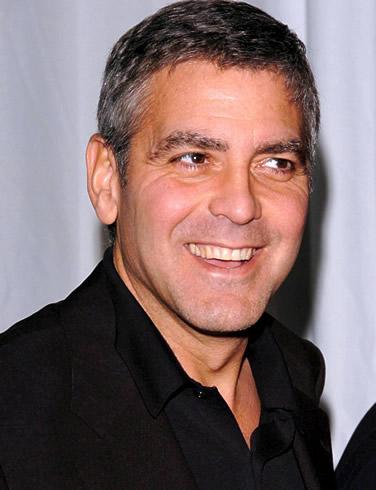 George Clooney hairstyles