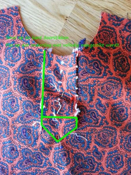 Foto tutorial Polosluiting stap 8