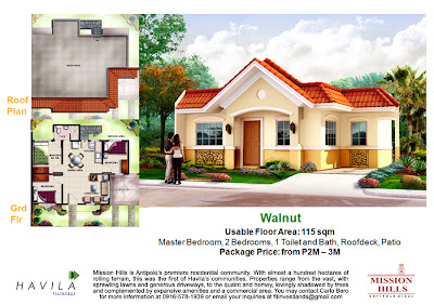Mission Hills Antipolo | House Model Walnut