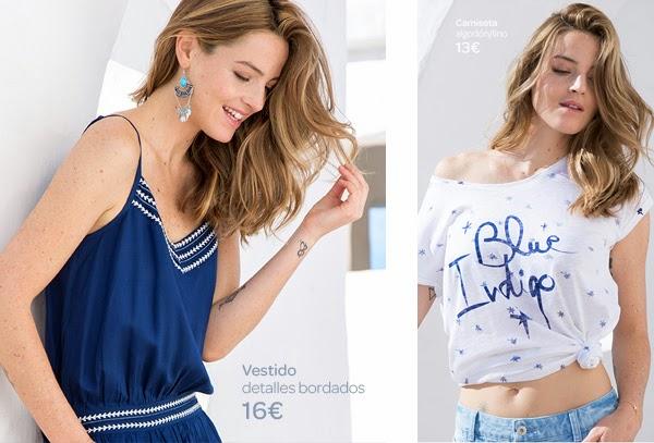 ropa mujer Carrefour Tex primavera verano 2015 camiseta vestido
