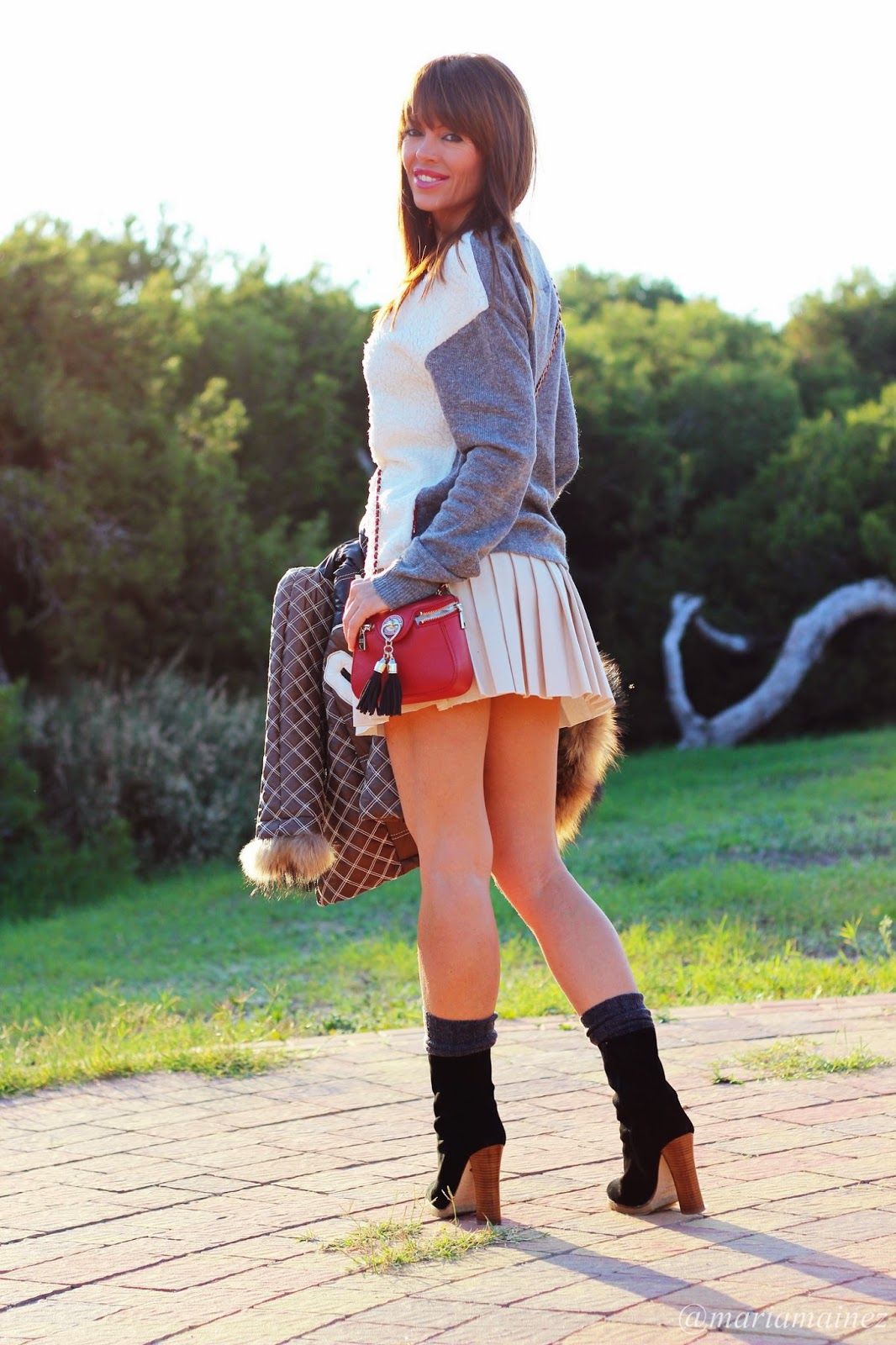 H.Preppy - School days collection - Blogger Alicante- Baltarini Shoes - Outfit Autum 2014