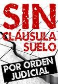 NO A LA CLAUSULA SUELO