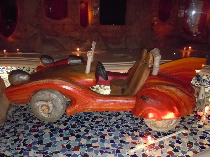 Flintstones movie sports car