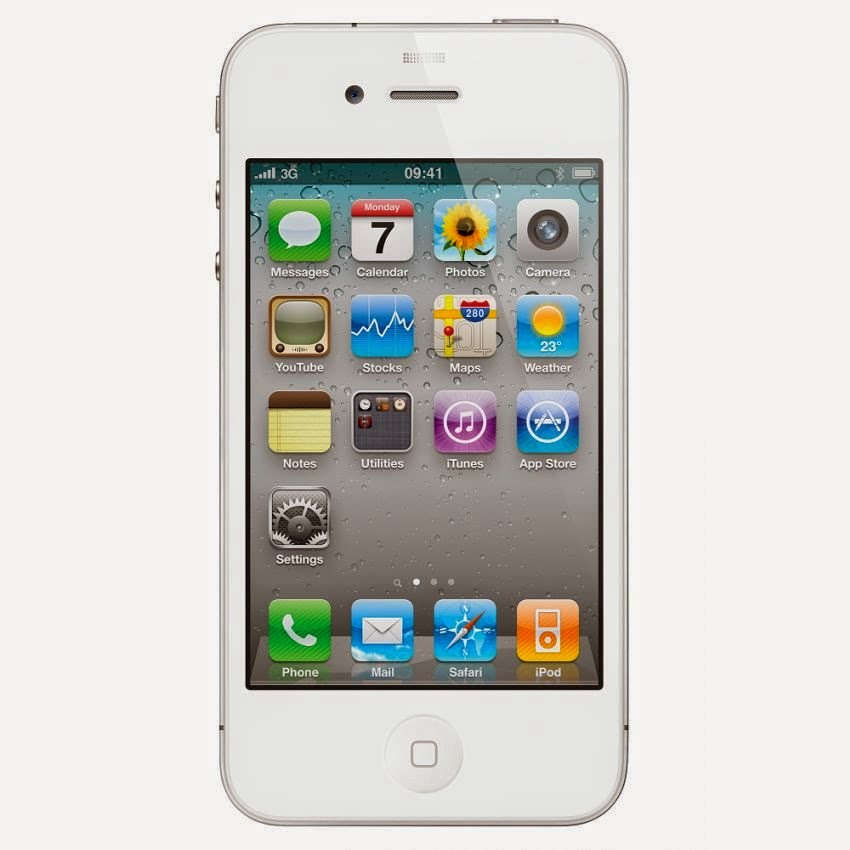 Harga Apple iPhone 4S - 32GB - White