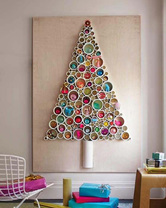 Diseño de Interiores  Arquitectura 17 Hermosas Ideas de Navidad Para Decorar Tus Paredes