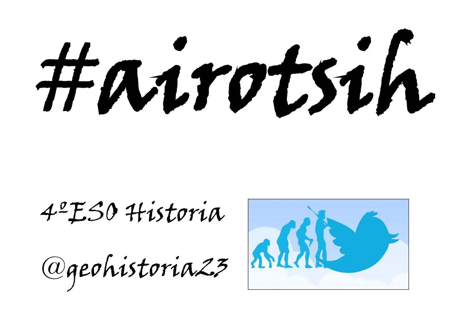 hashtag 4ºESO Historia