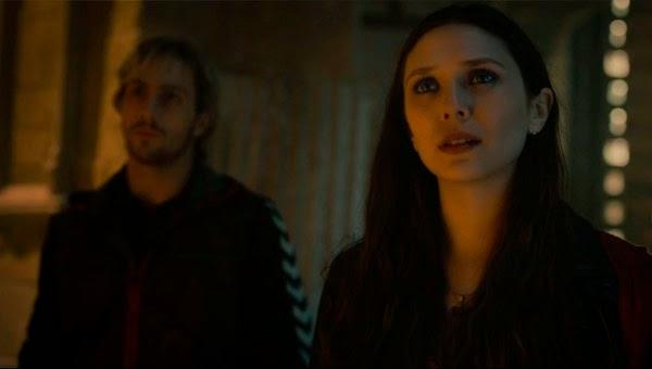 Pietro y Wanda en el tráiler final de Vengadores: La Era de Ultron