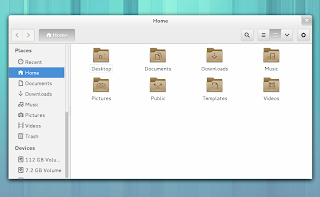 GNOME 3.8 new folder icons