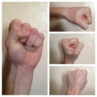 proper fist chart