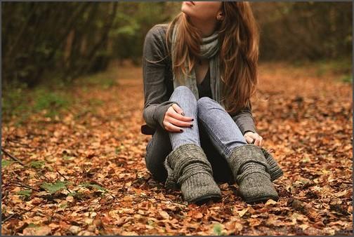 Sad alone girly girl cute